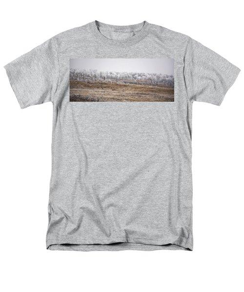 Grazing Elk Men's T-Shirt  (Regular Fit) by Ellery Russell