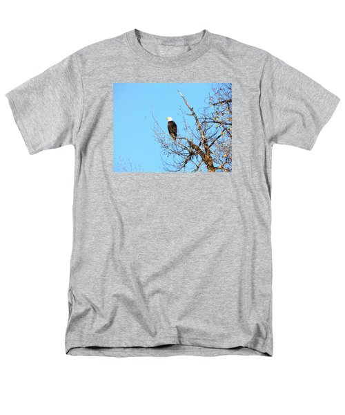 Great American Bald Eagle Men's T-Shirt  (Regular Fit) by Adam Cornelison