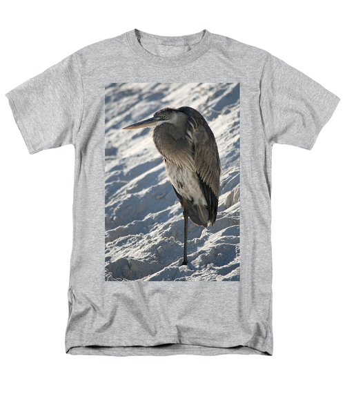 Great Blue Heron Men's T-Shirt  (Regular Fit) by Kathleen Scanlan
