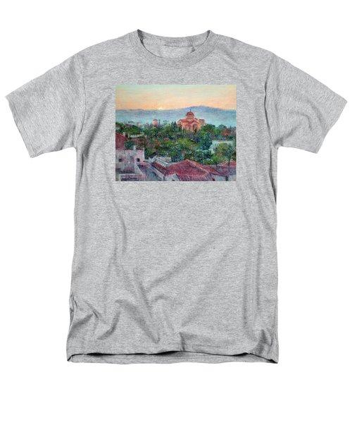 Greek Orthodox Sunset Men's T-Shirt  (Regular Fit)