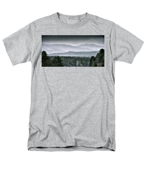 Green Mountain National Forest - Vermont Men's T-Shirt  (Regular Fit) by Brendan Reals