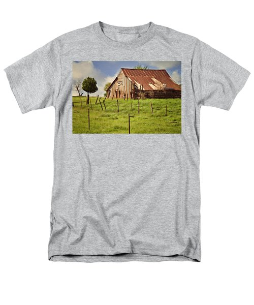 Green Pastures Men's T-Shirt  (Regular Fit) by Lana Trussell