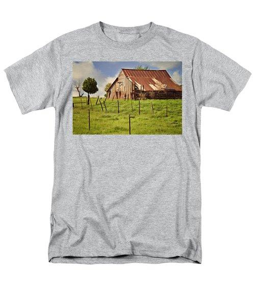 Green Pastures Men's T-Shirt  (Regular Fit)