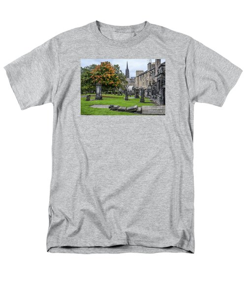 Greyfriars Kirkyard 1562  Men's T-Shirt  (Regular Fit) by Amy Fearn
