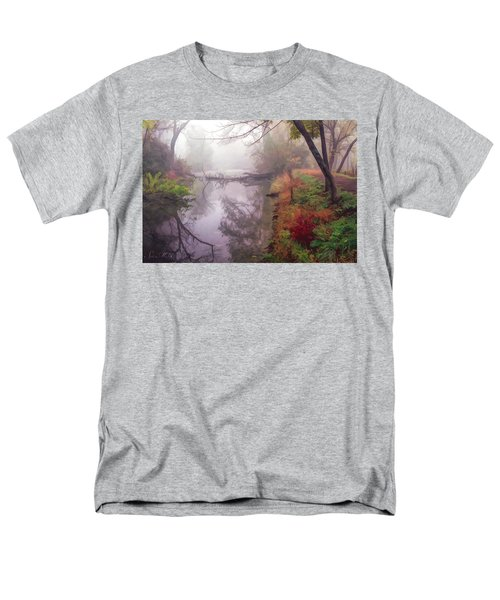 Grings Mill Fog 015 Men's T-Shirt  (Regular Fit) by Scott McAllister