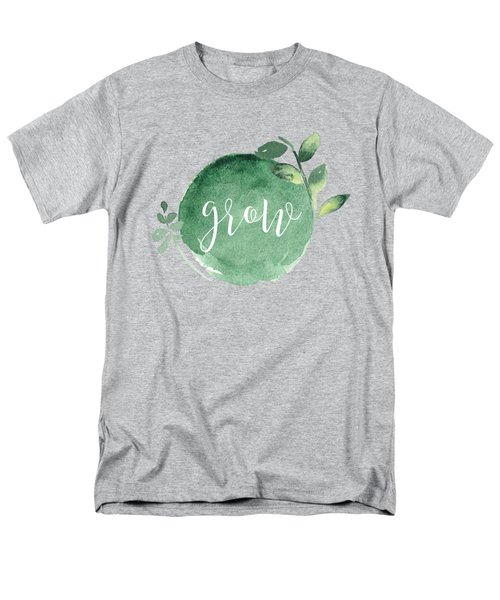 Grow Men's T-Shirt  (Regular Fit)
