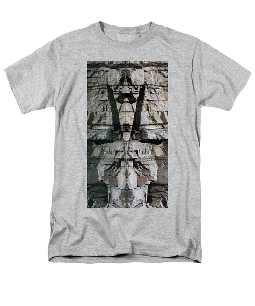 Men's T-Shirt  (Regular Fit) featuring the photograph Guardians Of The Lake by Cathie Douglas