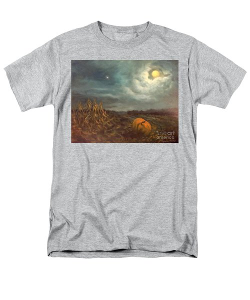Halloween Mystery Under A Star And The Moon Men's T-Shirt  (Regular Fit)