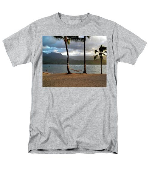 Hammock At Hanalei Bay Men's T-Shirt  (Regular Fit)