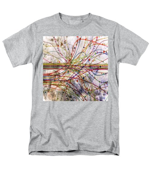 Men's T-Shirt  (Regular Fit) featuring the digital art Harnessing Energy 1 by Angelina Vick