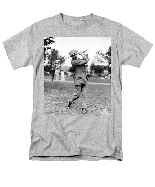 Harry Vardon - Golfer Men's T-Shirt  (Regular Fit) by International  Images