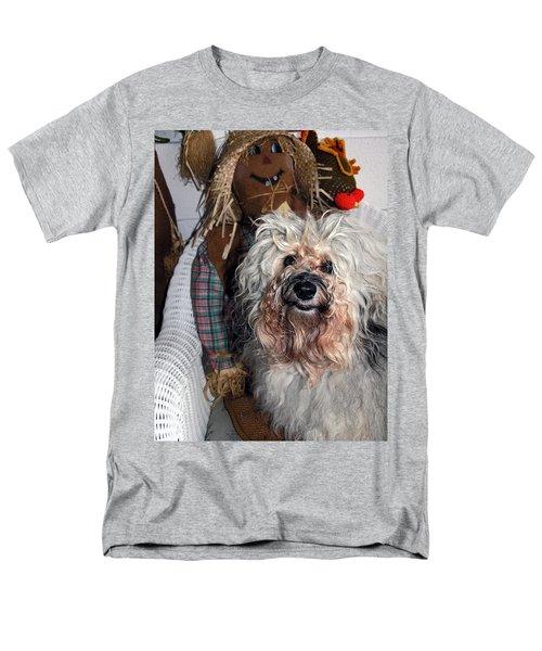 Havanese Cutie Men's T-Shirt  (Regular Fit) by Sally Weigand