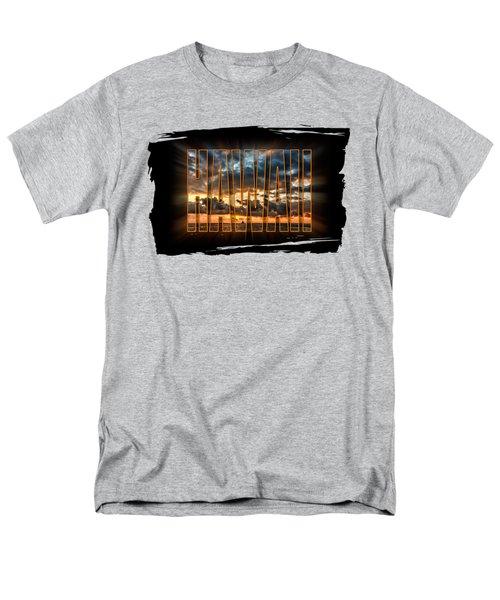 Hawaii Sunset Men's T-Shirt  (Regular Fit) by David Lawson