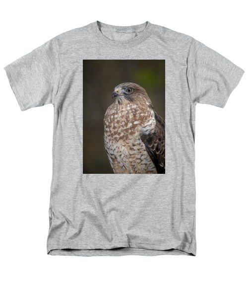 Men's T-Shirt  (Regular Fit) featuring the photograph Hawk by Tyson and Kathy Smith