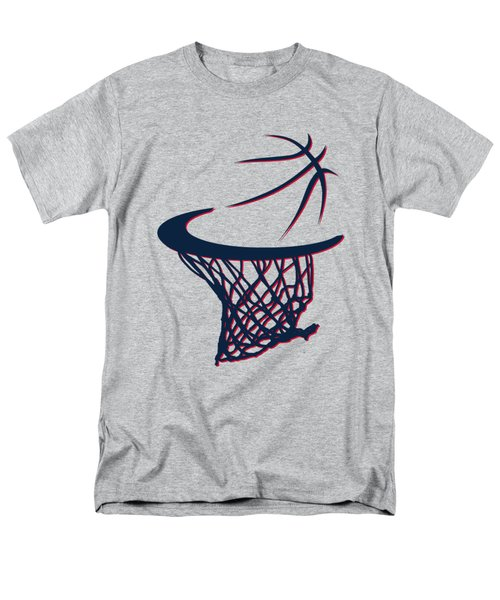 Hawks Basketball Hoop Men's T-Shirt  (Regular Fit) by Joe Hamilton