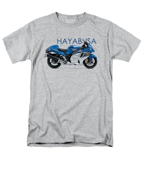 Hayabusa In Blue Men's T-Shirt  (Regular Fit) by Mark Rogan
