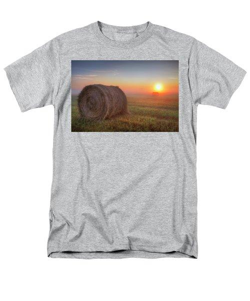 Men's T-Shirt  (Regular Fit) featuring the photograph Hayrise by Dan Jurak