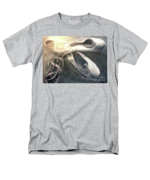 Men's T-Shirt  (Regular Fit) featuring the painting Heart Of The Dance by FeatherStone Studio Julie A Miller