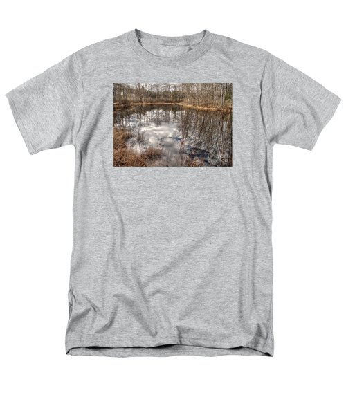 Heaven Below Men's T-Shirt  (Regular Fit) by Betsy Zimmerli