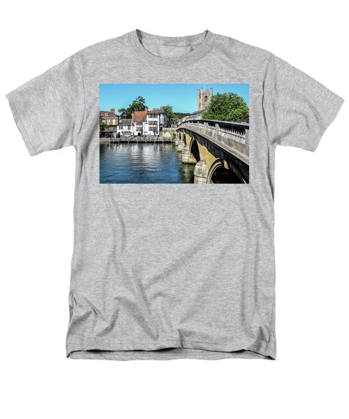 Henley And The Angel On The Bridge Men's T-Shirt  (Regular Fit) by Ken Brannen