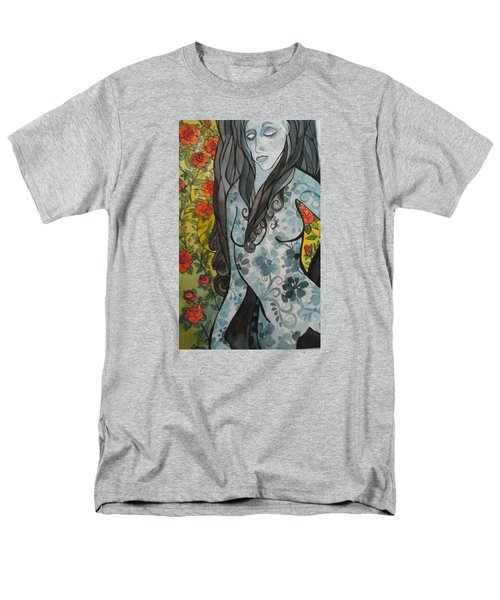 Hesitation Men's T-Shirt  (Regular Fit) by Claudia Cole Meek