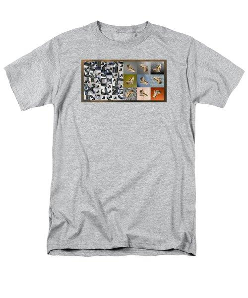 High Heel Study Men's T-Shirt  (Regular Fit) by Paul Moss