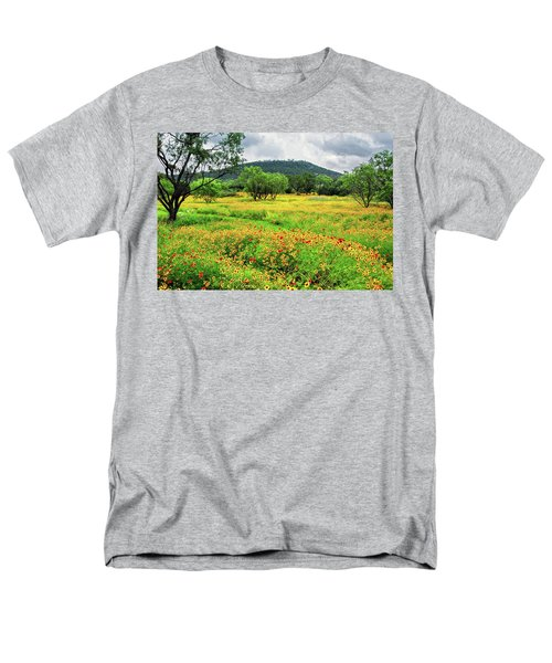 Hill Country Wildflowers Men's T-Shirt  (Regular Fit) by Lynn Bauer