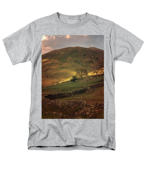 Hills Of Scotland At The Sunset Men's T-Shirt  (Regular Fit) by Jaroslaw Blaminsky