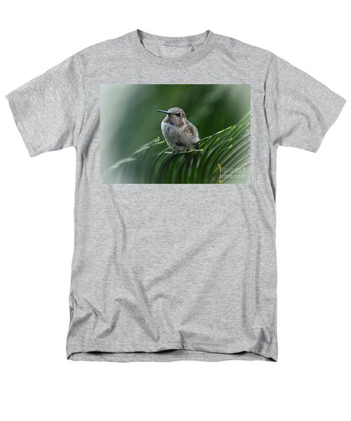 Men's T-Shirt  (Regular Fit) featuring the photograph Hint Of Purple by Debby Pueschel