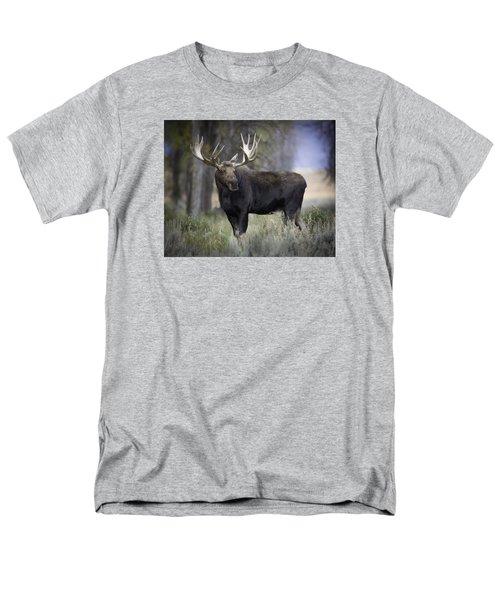 His Majesty Men's T-Shirt  (Regular Fit) by Elizabeth Eldridge