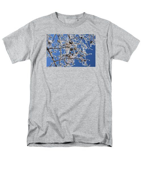 Men's T-Shirt  (Regular Fit) featuring the photograph Hoar Frost by Dacia Doroff