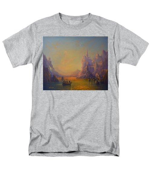 Hogwarts Castle Men's T-Shirt  (Regular Fit) by Joe Gilronan
