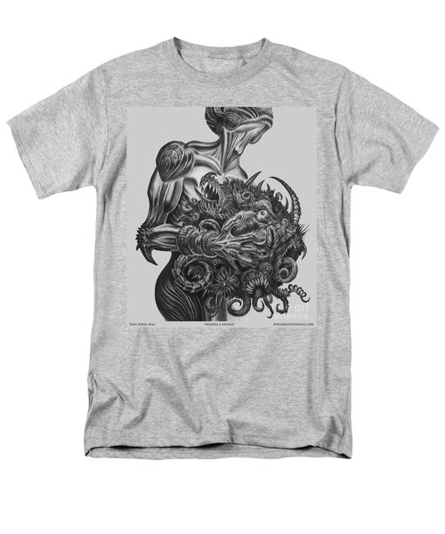 Holding A Grudge  Men's T-Shirt  (Regular Fit) by Tony Koehl