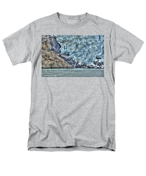 Holgate Glacier Hdr Men's T-Shirt  (Regular Fit) by Richard J Cassato