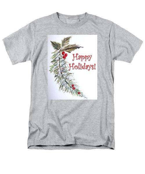 Holidays Card - 3 Men's T-Shirt  (Regular Fit) by Dorothy Maier
