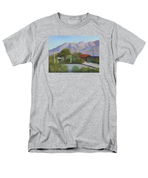 Home In The Catalinas Men's T-Shirt  (Regular Fit) by Susan Woodward