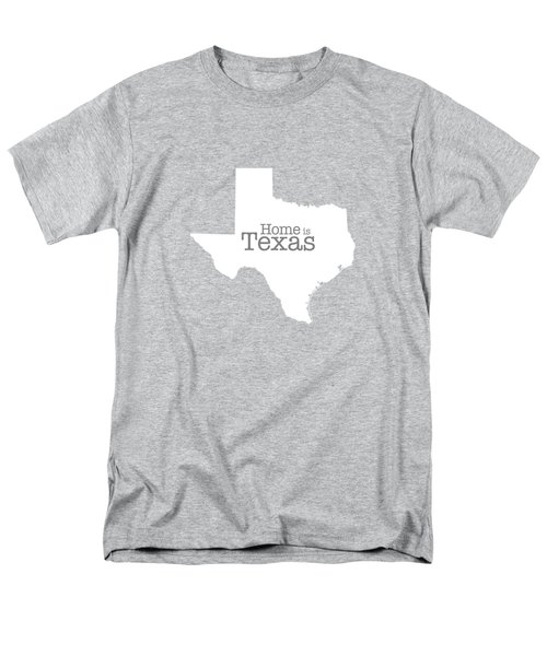 Home Is Texas Men's T-Shirt  (Regular Fit) by Bruce Stanfield