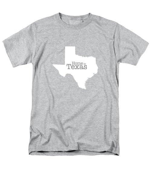 Home Is Texas Men's T-Shirt  (Regular Fit)