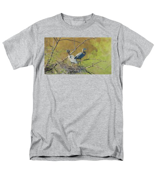 Home Town Blues Men's T-Shirt  (Regular Fit) by Kelly Marquardt
