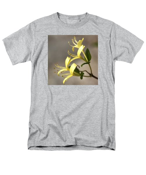 Men's T-Shirt  (Regular Fit) featuring the photograph Honeysuckle  by Shirley Mitchell