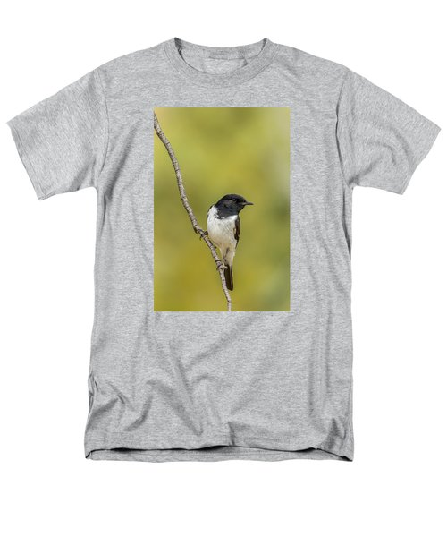 Hooded Robin Men's T-Shirt  (Regular Fit) by Racheal  Christian