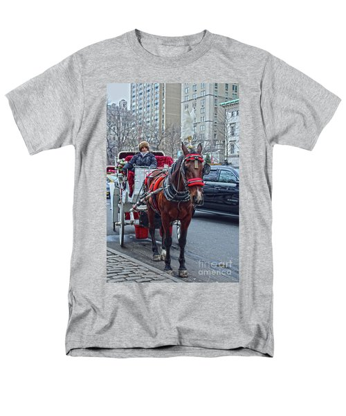 Men's T-Shirt  (Regular Fit) featuring the photograph Horse Power by Sandy Moulder