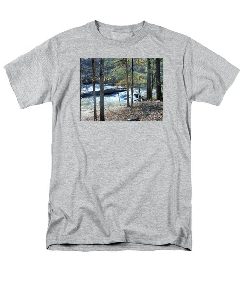 Men's T-Shirt  (Regular Fit) featuring the photograph Horseshoe Falls by Kay Gilley