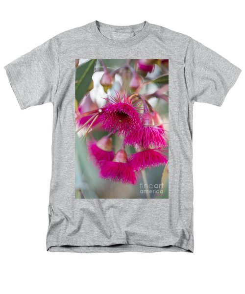 Men's T-Shirt  (Regular Fit) featuring the photograph Hot Pink by Linda Lees