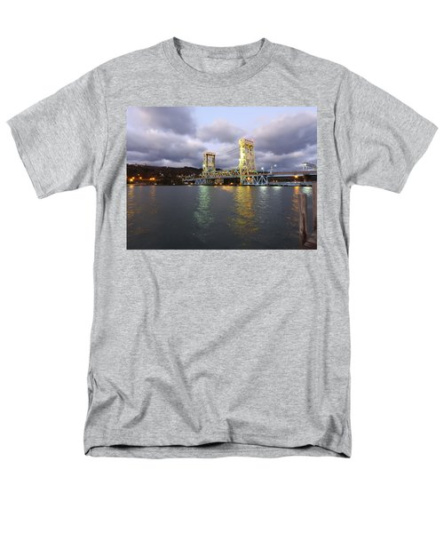 Houghton - Hancock Bridge Men's T-Shirt  (Regular Fit)
