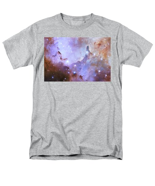 Men's T-Shirt  (Regular Fit) featuring the photograph Hubble Space Telescope Celebrates 25 Years Of Unveiling The Universe by Nasa