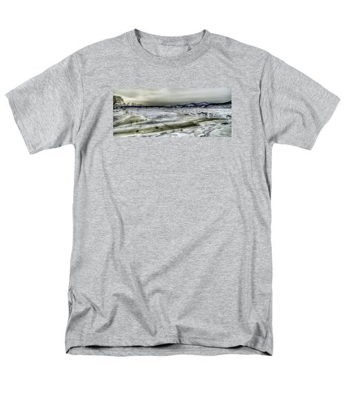 Hudson River Cold Spring, New York Men's T-Shirt  (Regular Fit) by Rafael Quirindongo
