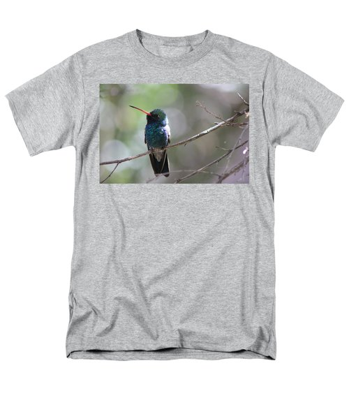 Men's T-Shirt  (Regular Fit) featuring the photograph Hummer by Kathy Bassett