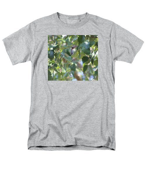 Men's T-Shirt  (Regular Fit) featuring the photograph Hummingbird by Debra     Vatalaro