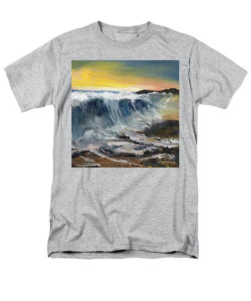 Hunter's Moon Men's T-Shirt  (Regular Fit) by Randy Sprout